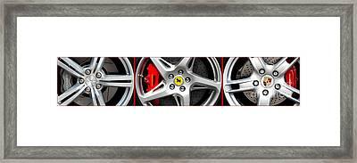Super Cars  Framed Print by Tim Gainey