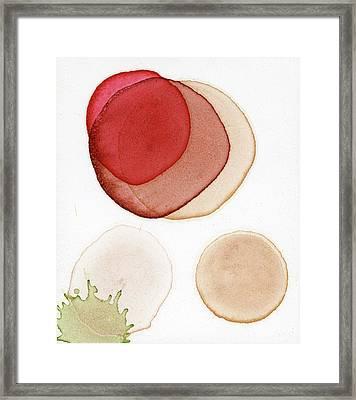 Super Moon For Japan Framed Print by Andrea Pramuk