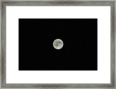 Super Moon Framed Print by Karl Anderson