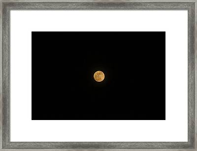 Super Moon Rising Framed Print by Robert E Alter Reflections of Infinity