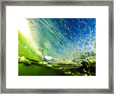 Super Tube Framed Print by David Alexander