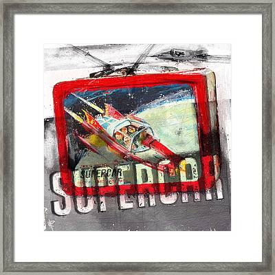 Supercar Framed Print by Russell Pierce