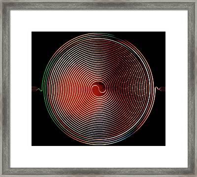 Superconducting Amplifier Framed Print by Nasa/jpl-caltech