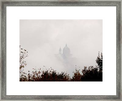 Superga Nella Nebbia Framed Print by Pierfrancesco Maria Rovere