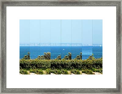 Superior Mirage Framed Print by Laurent Laveder
