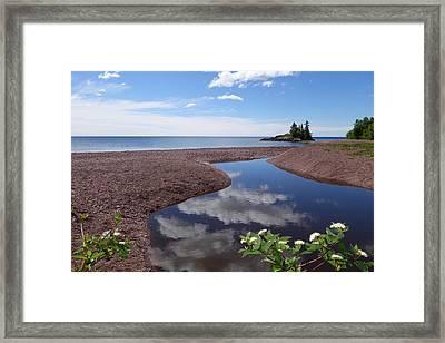 Superior Reflections Framed Print by Sandra Updyke
