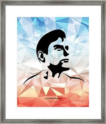 Superman 10 Framed Print by Mark Ashkenazi