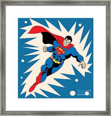 Superman 8 Framed Print by Mark Ashkenazi