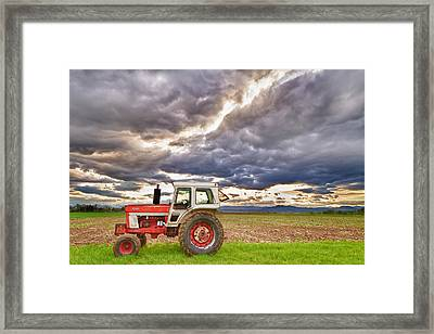 Superman Skies Framed Print by James BO  Insogna