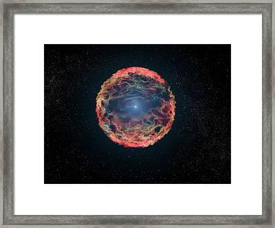 Supernova 1993j Framed Print by Nasa, Esa, G. Bacon