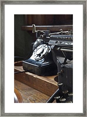 Superseded Framed Print by Cheri Randolph