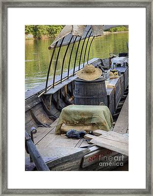 Supper Is Ready Framed Print by Pete Hellmann