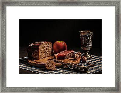 Supper Framed Print by Joe Boehmer