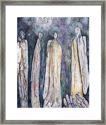 Supplication Framed Print by Nancy Smith