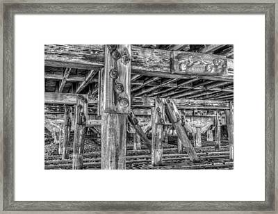 Support Framed Print by Dado Molina