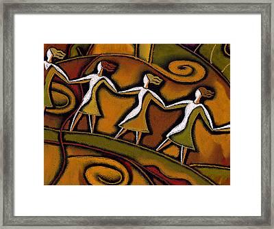 Support Framed Print by Leon Zernitsky