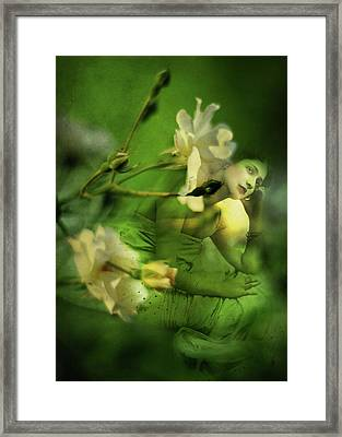 Supposition Framed Print by Rebecca Sherman
