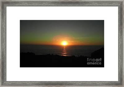 Sur3 Framed Print by Justin Moranville