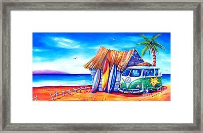 Surf Club Framed Print by Deb Broughton