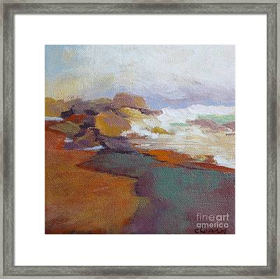 Surf Framed Print by Melody Cleary