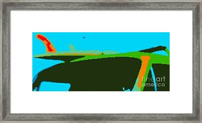 Surf Waggon II Framed Print by James Eye