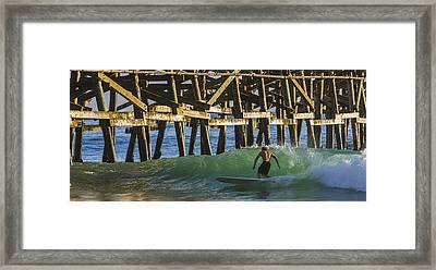 Surfer Dude 1 Framed Print by Scott Campbell