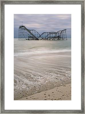 Surf's Up Framed Print by Mike Orso