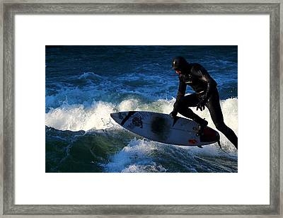 Surfs Up Framed Print by Mountain Dreams
