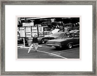 Surfs Up Framed Print by Rick Hale