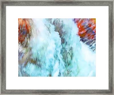 Surge Of Life Framed Print by Terril Heilman