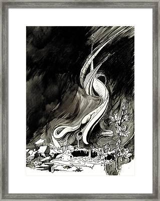 Surprise Framed Print by Julio Lopez