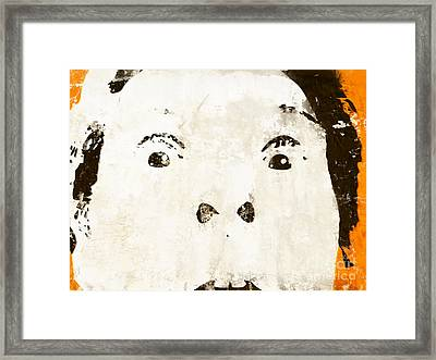 Surprise Framed Print by Pixel Chimp