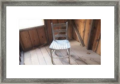Surreal Chair Framed Print by Dan Sproul
