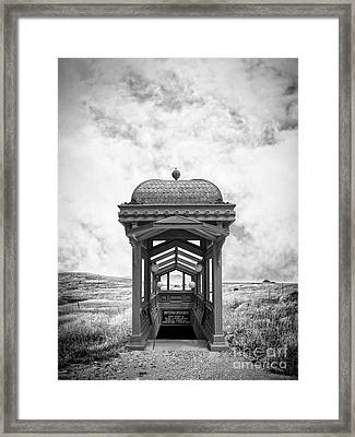 Subway Surreal Framed Print by Edward Fielding
