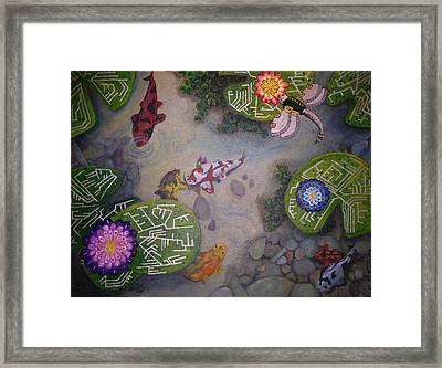 Surrealism Evolutionary Breakdown Framed Print by Richard Armstrong