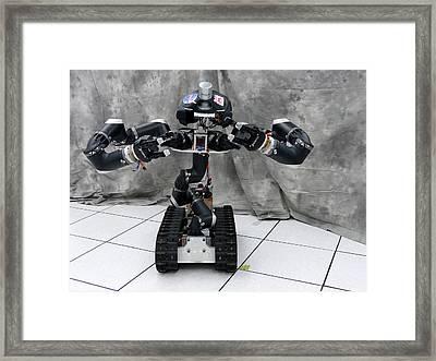 Surrogate Robot Framed Print by Jpl-caltech