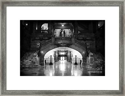 Surrogate's Court 1990s Framed Print by John Rizzuto
