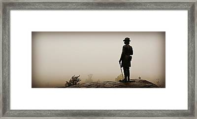Surveying The Battlefield Framed Print by Stephen Stookey