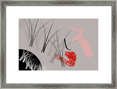 Survival Framed Print by Diana Angstadt