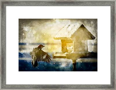 Surviving Framed Print by Melissa Smith