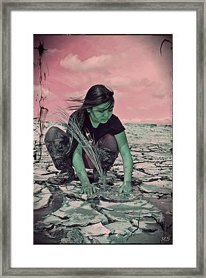 Surviving The Fallout Framed Print by Absinthe Art By Michelle LeAnn Scott