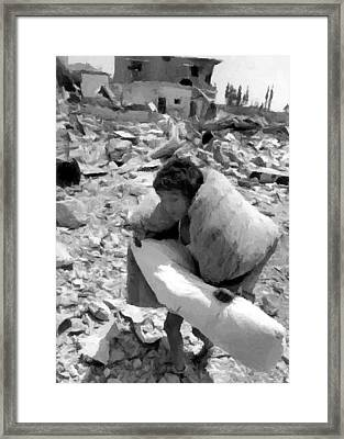 Survivor Framed Print by Munir Alawi