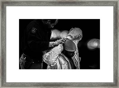 Suspect  Framed Print by Bob Orsillo