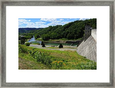 Sutton Dam Framed Print by Thomas R Fletcher