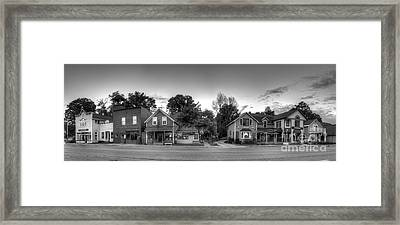 Sutton's Bay Shops Framed Print by Twenty Two North Photography