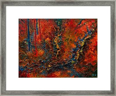Sutures Framed Print by Sourav Bose