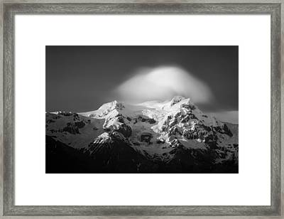Svinafell Mountains Framed Print by Dave Bowman