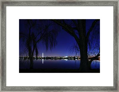 Swamp Land No More Framed Print by Metro DC Photography