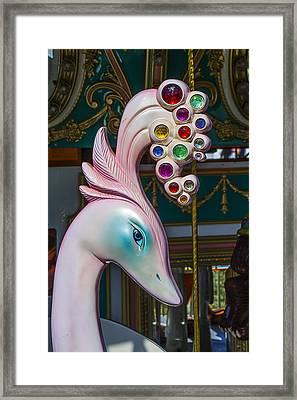 Swan Carrsoul Ride Framed Print by Garry Gay