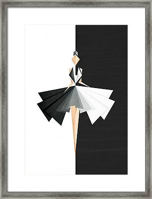 Swan Lake Framed Print by VessDSign